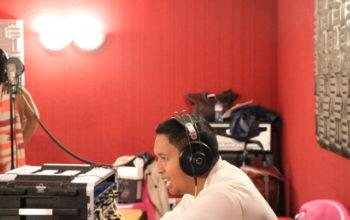 studio, enregistrement, Aina